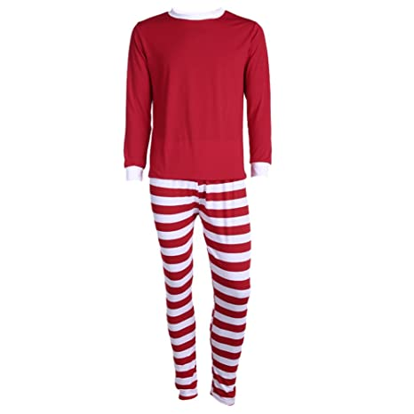 8e651e3603 Buy Rrimin Christmas Gift Xmas Family Matching Christmas Sleepwear  Nightwear Pyjamas (Men)(L) Online at Low Prices in India - Amazon.in