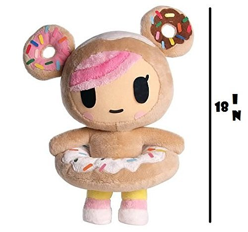 donutella plush neon star by tokidoki 18 inch - Tokidoki Donutella Coloring Pages