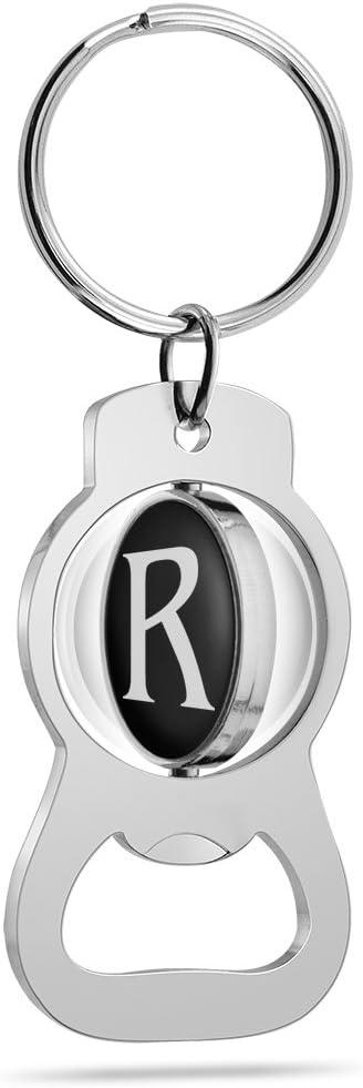 Epic Products Monogram R Keychain Bottle Opener Multicolor