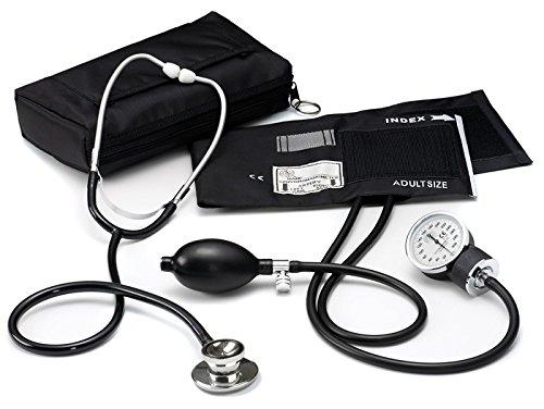 Prestige Medical Basic Aneroid Sphygmomanometer Dual Head Kit
