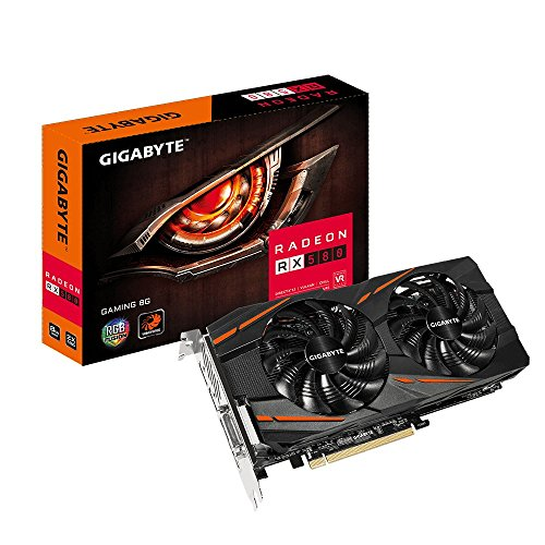 Gigabyte Radeon RX 580 Gaming 8GB Graphic Cards GV-RX580GAMING-8GD by Gigabyte