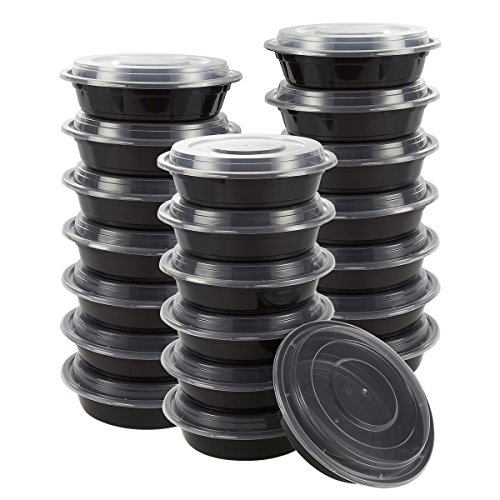 20 Pack 24 Ounce Portion Reusable Containers product image