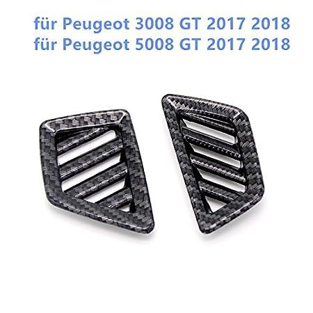5008 2017 2018 Interieur T/ürgriff Interieurleisten 4 St/ück Edelstahl PG 3008