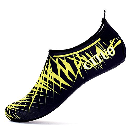 FELOVE Water Shoes,Beach Swim Barefoot Shoes,Snug & Comfortable Home Slipper Yoga Socks for Men&Women