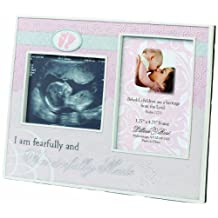 "Lillian Rose Wonderfully Made Ultrasound Frame, Pink, 9"" x 7"""