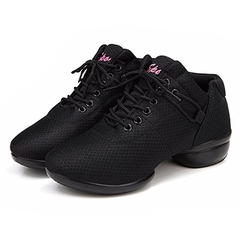 Lanpet 2017 Women's Jazz Hip Hop Shoes Salsa Sneakers for Woman Soft Outsole Breath Sport Dance Shoes S49 by Lanpet