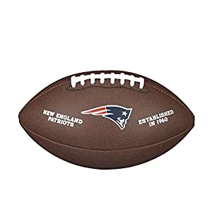 New England Patriots Logo Official Football