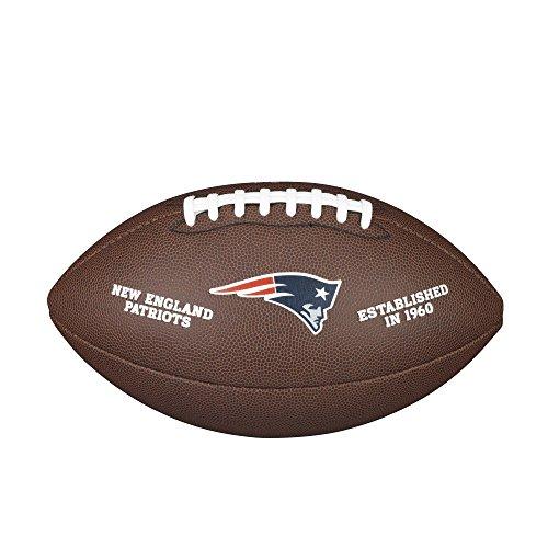 New England Patriots Leather Football - 4