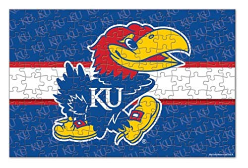 WinCraft NCAA University of Kansas Jayhawks Jigsaw Puzzle 150-Piece