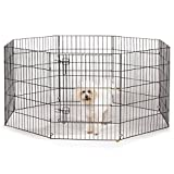 ProSelect Everlasting Exercise Pens for Dogs and Pets - Black 18'', 24'', 30'', 36'', 42'', 48''