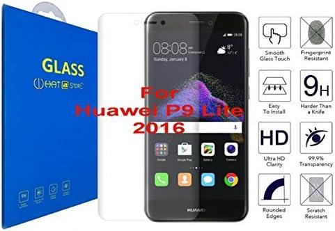Huawei P9 Lite (2016) - Curvo 3D Cristal Templado Protector de Pantalla, 3D Completo Borde Curvado [ Borde a Borde ] para Huawei P9 Lite (2016): Amazon.es: Electrónica