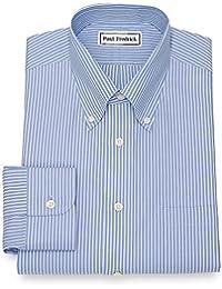 """<span class=""""a-offscreen"""">[Sponsored]</span>Men's Non-Iron Cotton Twin Stripe Dress Shirt"""