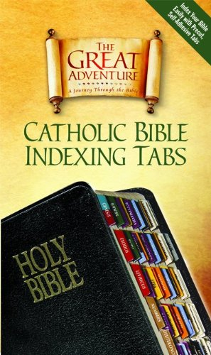 Catholic Bible Indexing Tabs The Great Adventure