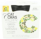 Cat Cora's Kitchen Tapenade, Green Olive, 3.5 Ounce (Pack of 6)