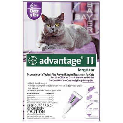 Advantage II 12pk Cat Over 9 lbs
