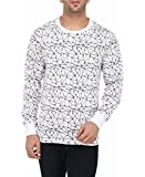 Vivid Bharti Men's Cotton Printed Full Sleeve Tshirts