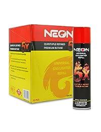 12 Latas (1 Caso) de 300 ml de neón 5 x refinado b