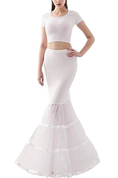 Amazon.com: Babyonline – Vestido para mujer boda de sirena ...