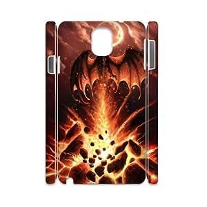 Diy Red Dragon Phone Case for samsung galaxy note 3 3D Shell Phone JFLIFE(TM) [Pattern-2] hjbrhga1544