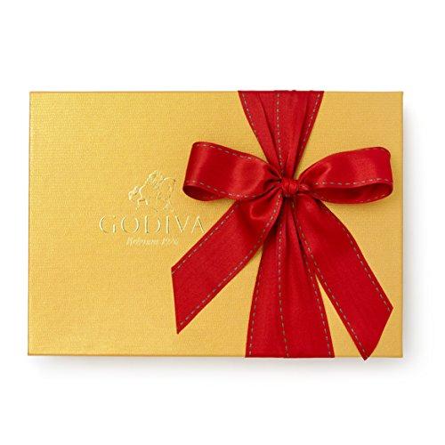 Godiva Chocolatier 36 Piece Valentines Day Gold Ballotin Gift Box, Assorted Gourmet Chocolates