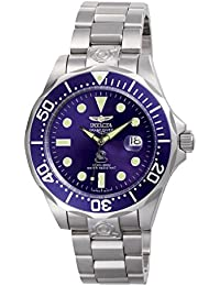 Men's 3045 Pro-Diver Collection Grand Diver Stainless Steel Automatic Watch with Link Bracelet