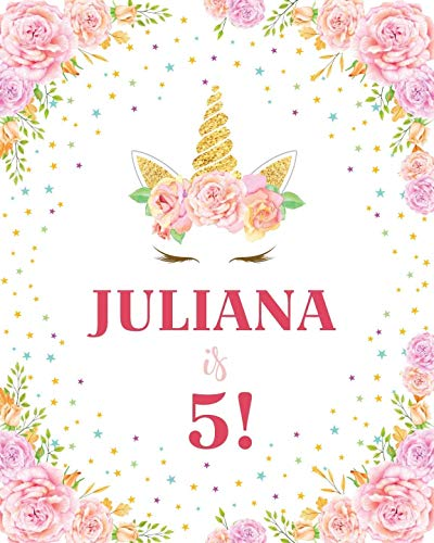 Unicorn Princess Personalized Party Backdrop Banner