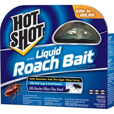 Liquid Roach Bait - Spectrum Brands Pet Home & Garden Hg-95789 Ultra Liquid Roach Bait, 6-Ct. - Quantity 6 Roach Bait & Trap