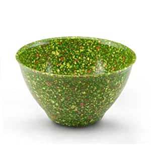 Rachael Ray Tools Garbage Bowl with Non-Slip Rubber Base, Green