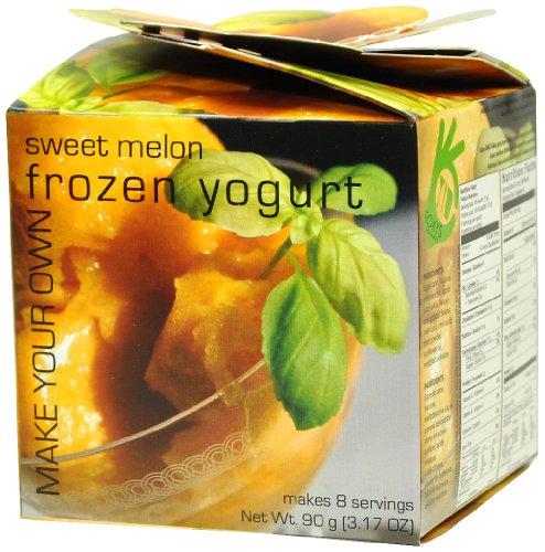 Sweet Yogurt (Foxy's Gourmet Frozen Yogurt, Sweet Melon, 3.17 Ounce)
