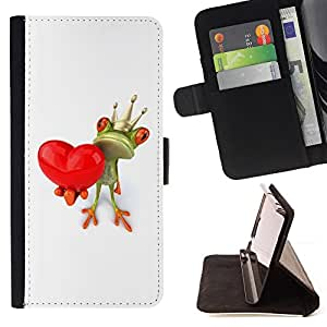Jordan Colourful Shop - crown white love valentine valentines For Apple Iphone 6 PLUS 5.5 - Leather Case Absorci???¡¯???€????€???????