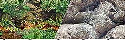 Blue Ribbon Pet Products ABLVSB1119 Rainforest Decorative Background for Aquarium, 19-Inch 50-Feet