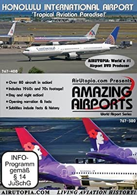 Airutopia: Honolulu International Airport-(Airport, airliner, plane, airplane, Aviation, aircraft FILM) by Aviation Data Corp Dvds