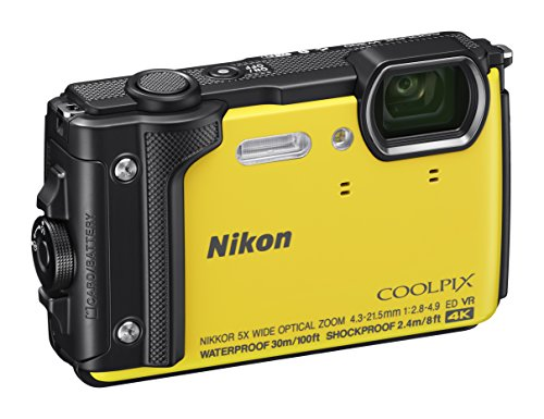Nikon W300 Waterproof Underwater Digital Camera with TFT LCD, 3