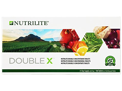 31 Day Supply (( Amway ) 1 Box Nutrilite Double X Tray Multivitamin/Multimineral/Concentrate 31 Day Supply ( Malaysia / Singapore Packaging))
