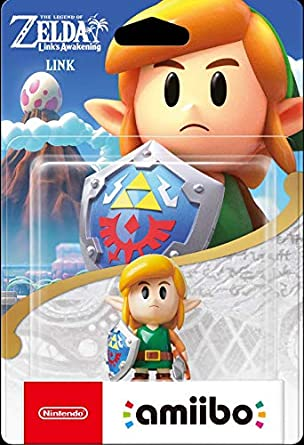 Nintendo Amiibo - Link - The Legend of Zelda Links Awakening ...