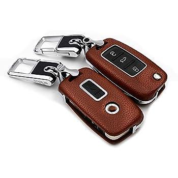 Amazon.com: Sakali - Funda para llaves de coche Volkswagen ...