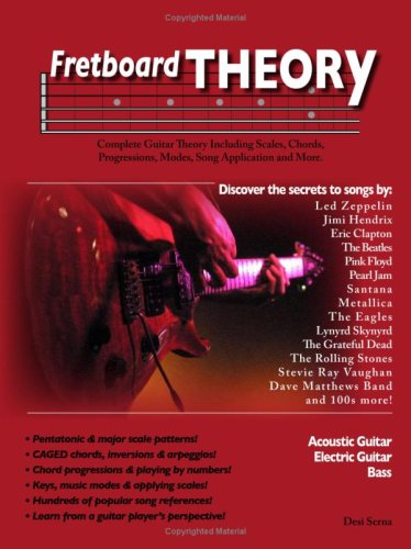 Fretboard Theory - Guitar Scales, Chords, Progressions, Modes, and More