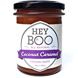 Coconut Caramel Sauce by Hey Boo - Made in USA - Dairy Free - No Corn Syrup - Delicious