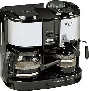 Ufesa CK7350 Dueto, Negro, Gris, 1.08 m, 1500 W, 220-240 V, 220 - Máquina de café