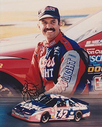 Kyle Petty Autographed Photo - Racing 8x10 - JSA Certified - Autographed NASCAR Photos