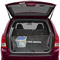 Trunk Storage Net By Lebogner - Car Trunk Organizer, Mesh Net Hammock Cargo Storage Vehicle Organizer with 3 Mounting Options, Premium Quality Universal Fit Car Organizer