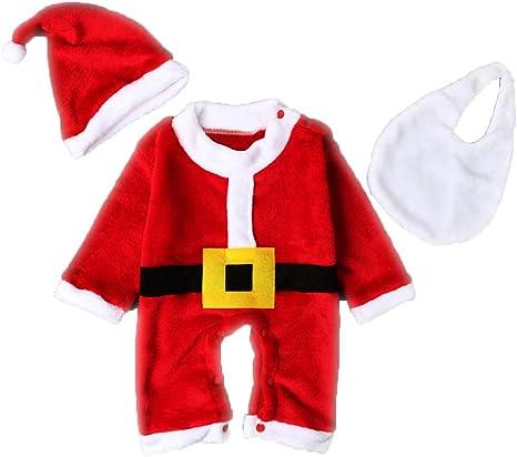 Conjunto de 3 piezas de disfraz de Navidad para bebé, niños, Papá ...