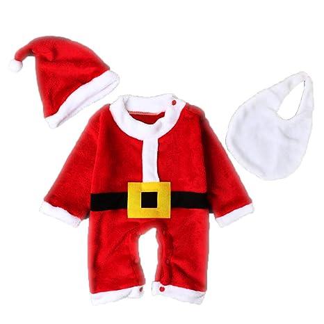 Conjunto de 3 piezas de disfraz de Navidad para bebé, niños ...