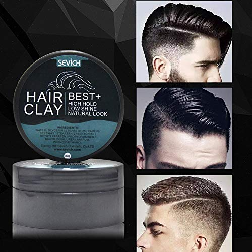 Hair Styling Gel , Elevin(TM) Sevich Men Hair Oil Wax Hair Styling Gel Strong Hold Matte Finished Hair Spray from Elevin(TM) _ Health & Beauty
