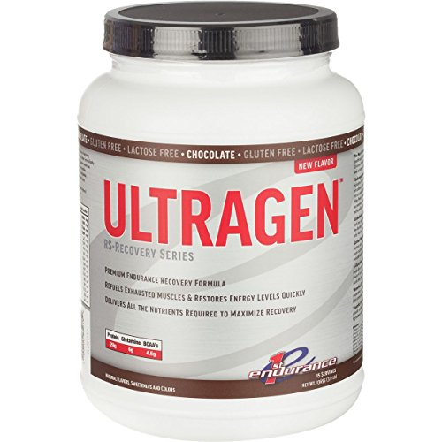 First Endurance Ultragen Recovery Drink Chocolate, 15 servings, 3 LB