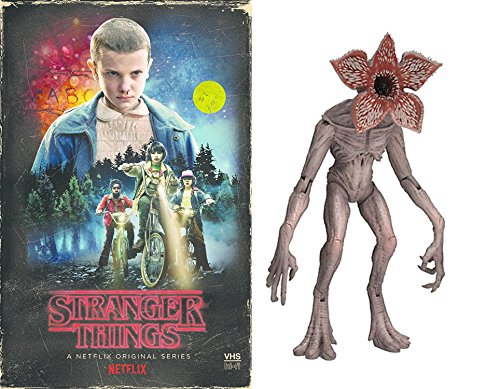 Stranger Things Mystery Funko Demogorgon Action Figure Exclusive VHS Set Season 1 DVD Blu-Ray 4 Disc Box Special Edition 2-Pack Combo Bundle