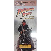 Indiana Jones and The Last Crusade Book and Cassette Set - Dialogue From Motion Picture Soundtrack. With Full Color Souvenir Photo Book