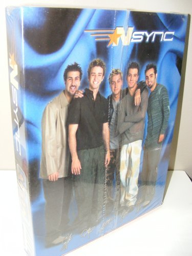 Nsync (N Sync) Back to School Supplies Gift Box Including Four Pencils, Theme Book, Chunky Memo Book, Journal and Portfolio by NSYNC by NSYNC