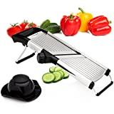 Sterline Adjustable Stainless Steel Mandoline Slicer, Vegetable...