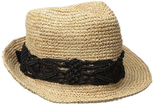 Raffia Crochet Hat - 3